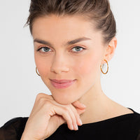"Hoop Earrings For Beads ""Medium"" - THOMAS SABO Malaysia"