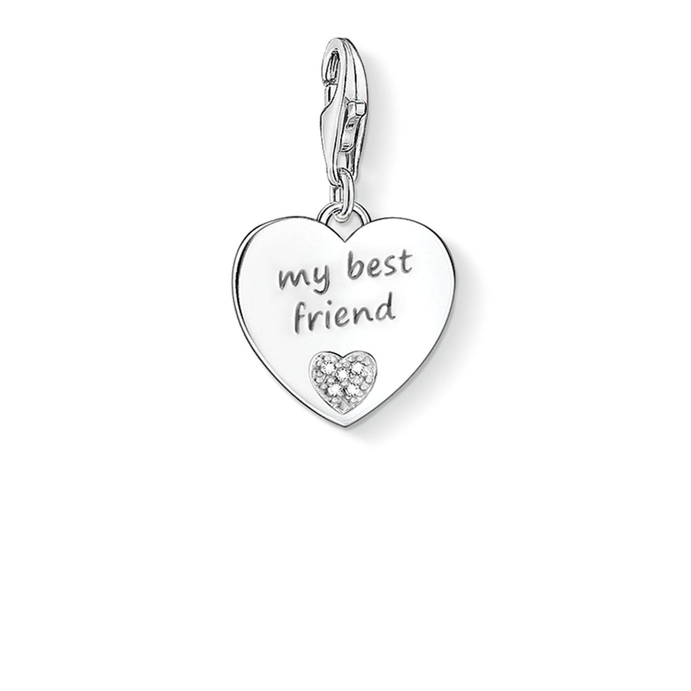 "Charm Pendant ""My Best Friend"""