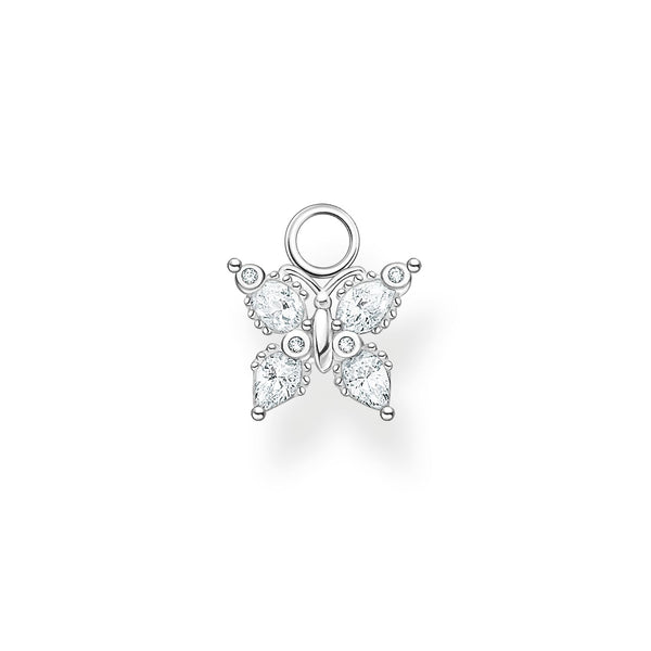 Single Ear Pendant Butterfly Silver | Thomas Sabo Malaysia