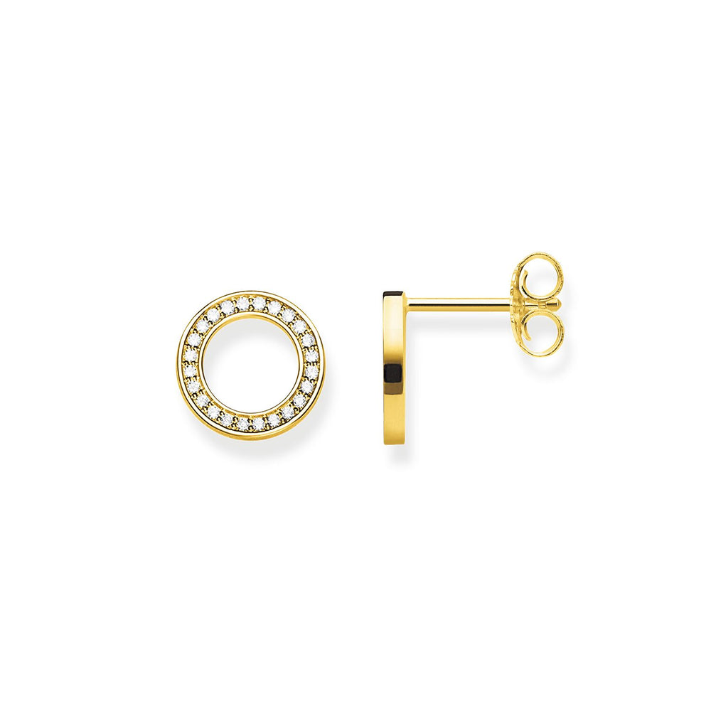 "Ear studs ""Circles Large"""