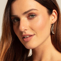 "Earring ""Moon Mother-of-pearl"""