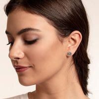 "Ear Studs ""Abalone Mother-of-pearl"""