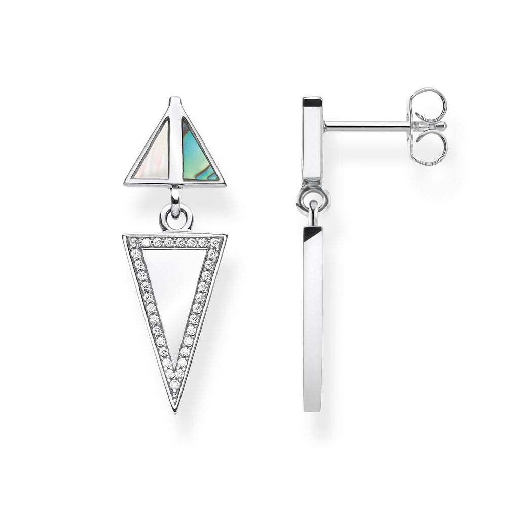 "Earrings ""Triangle"""