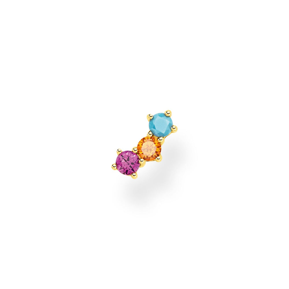 Thomas Sabo Ear Stud Colourful Stones