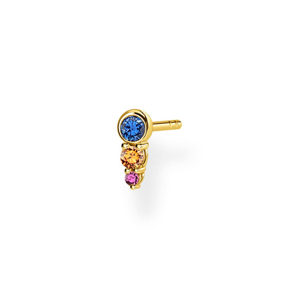 Ear Stud Colourful Stones | Thomas Sabo Malaysia