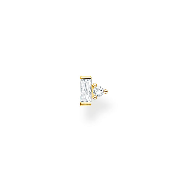 Single Ear Stud Stones Gold | Thomas Sabo Malaysia