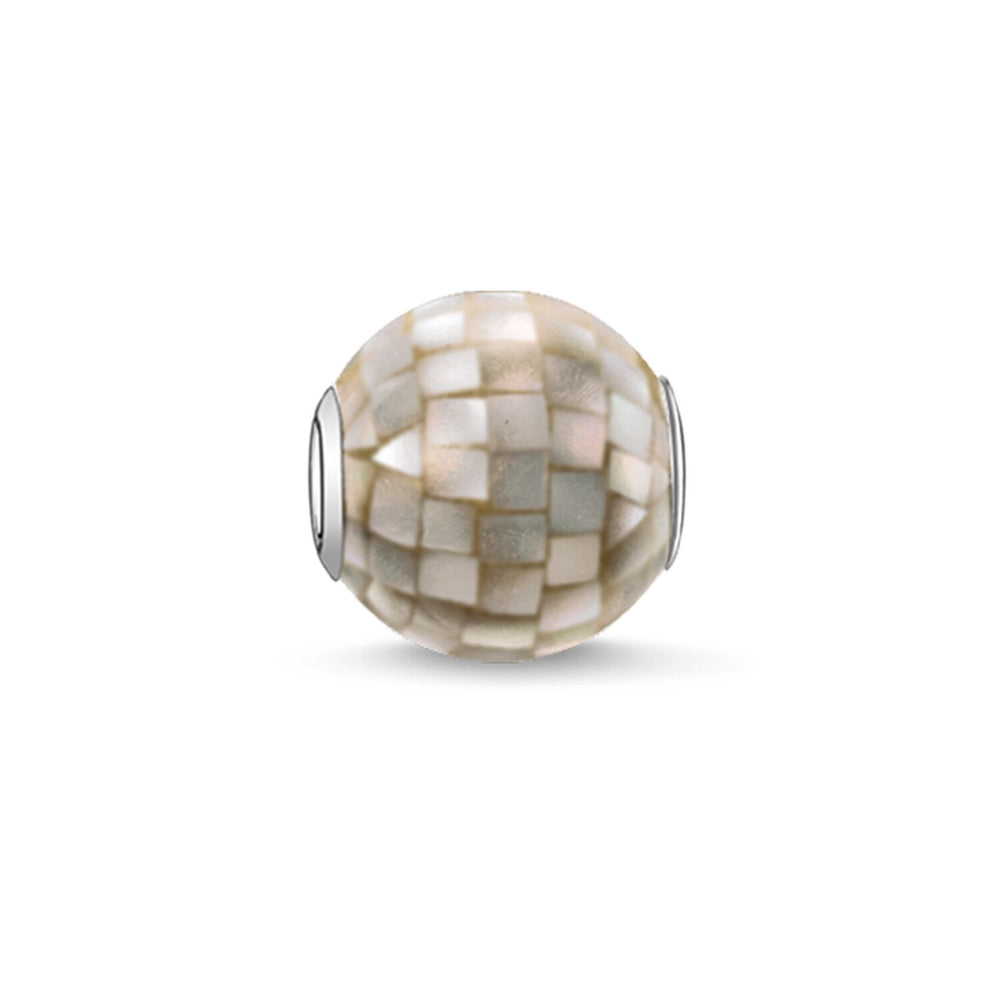 "Bead ""Grey Mother-of-pearl"" - THOMAS SABO Malaysia"