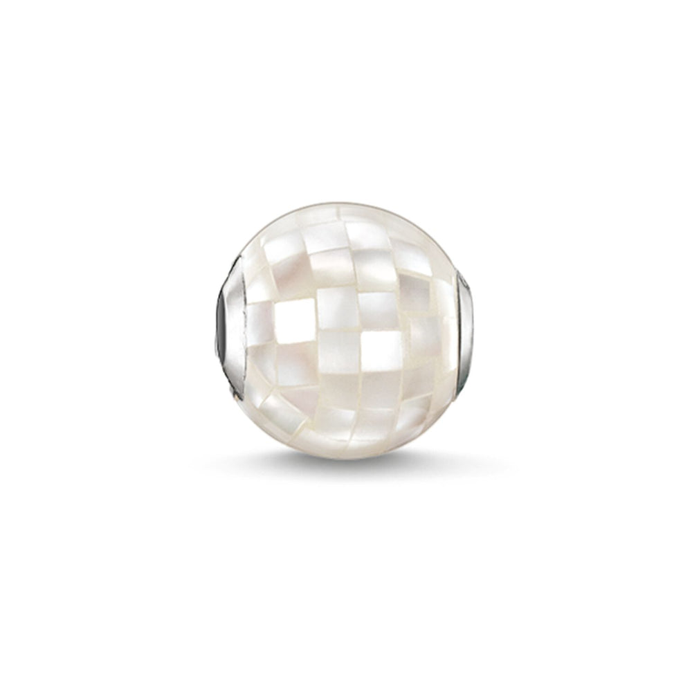 "Bead ""White Mother-of-pearl"" - THOMAS SABO Malaysia"