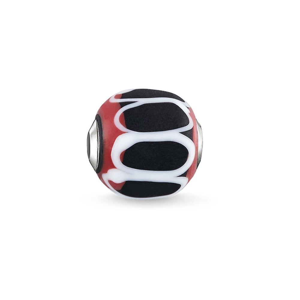 "Bead ""Glass Bead Black, Red, White"" - THOMAS SABO Malaysia"