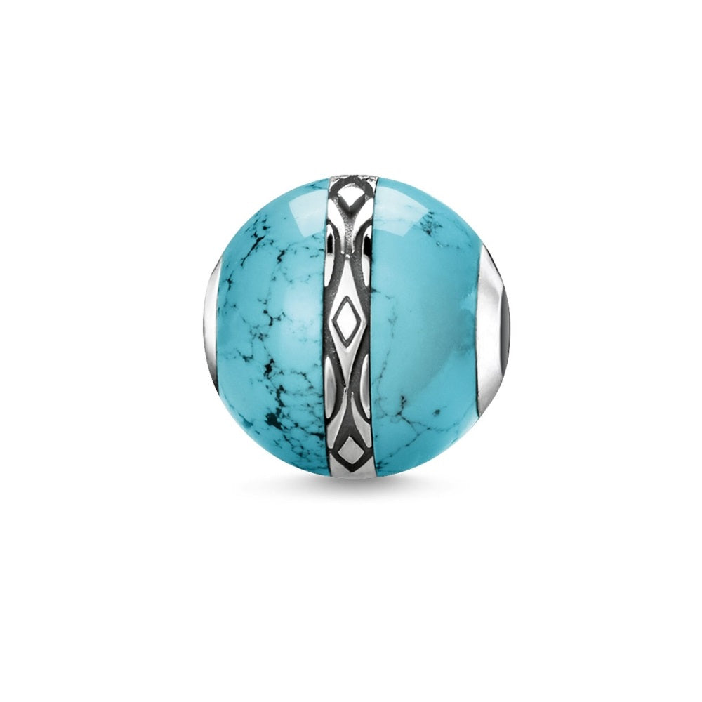 "Bead ""Ornament Turquoise"""