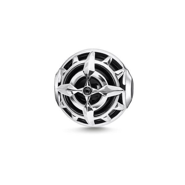 Bead Compass Black