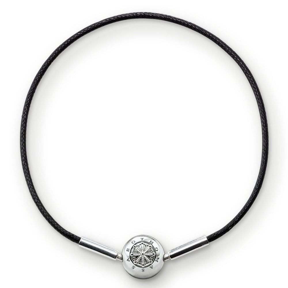 "Bracelet For Beads ""Black"" - THOMAS SABO Malaysia"
