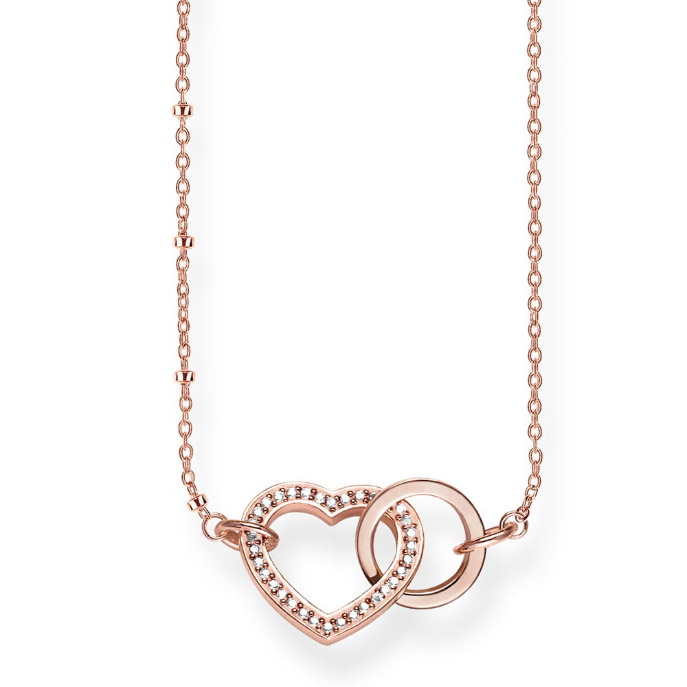 "Necklace ""Together Forever Heart"""
