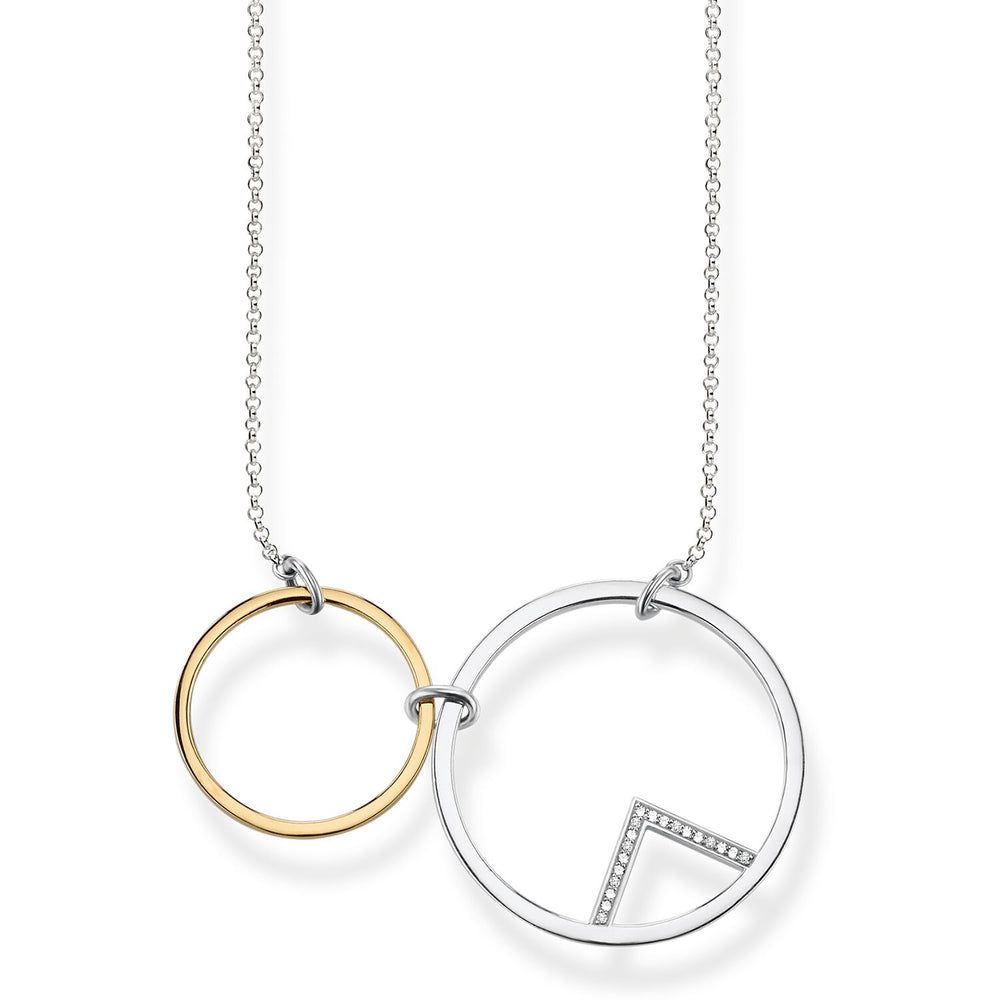 "Necklace ""Circles"""