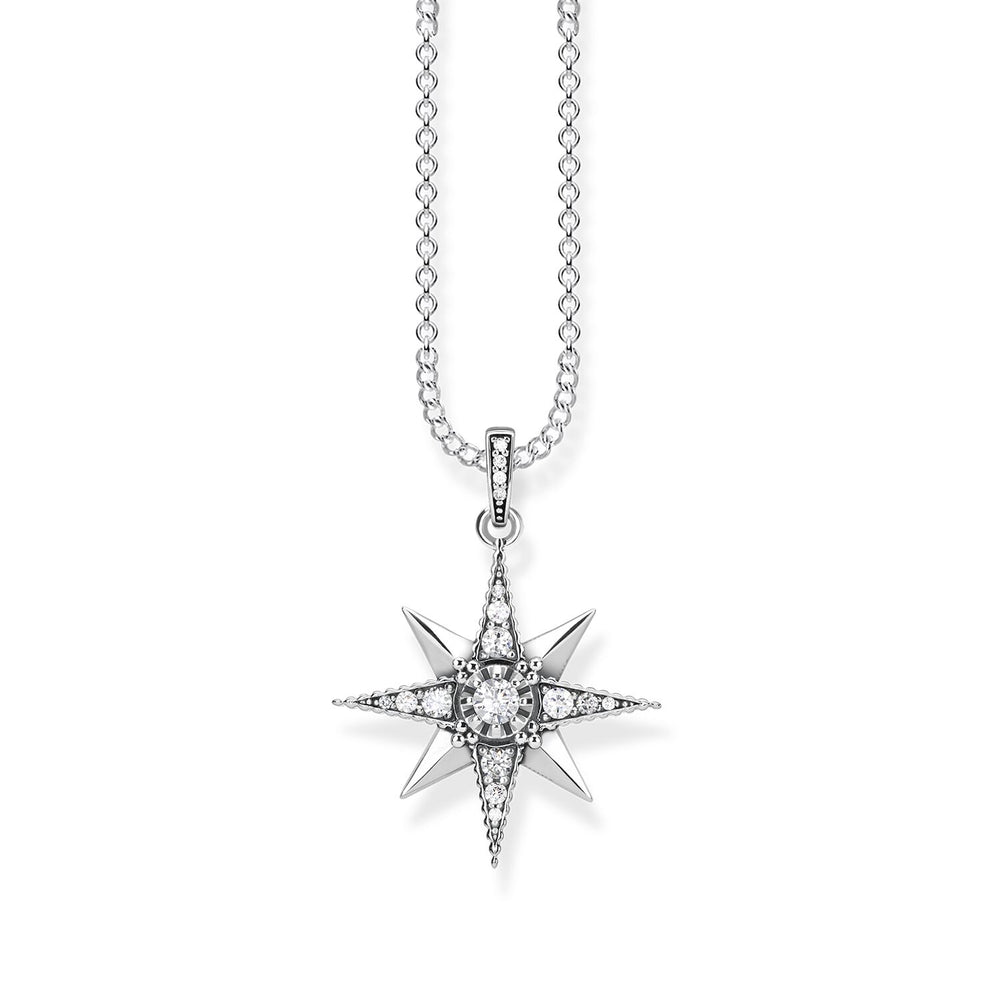 "Necklace ""Royalty Star white"""