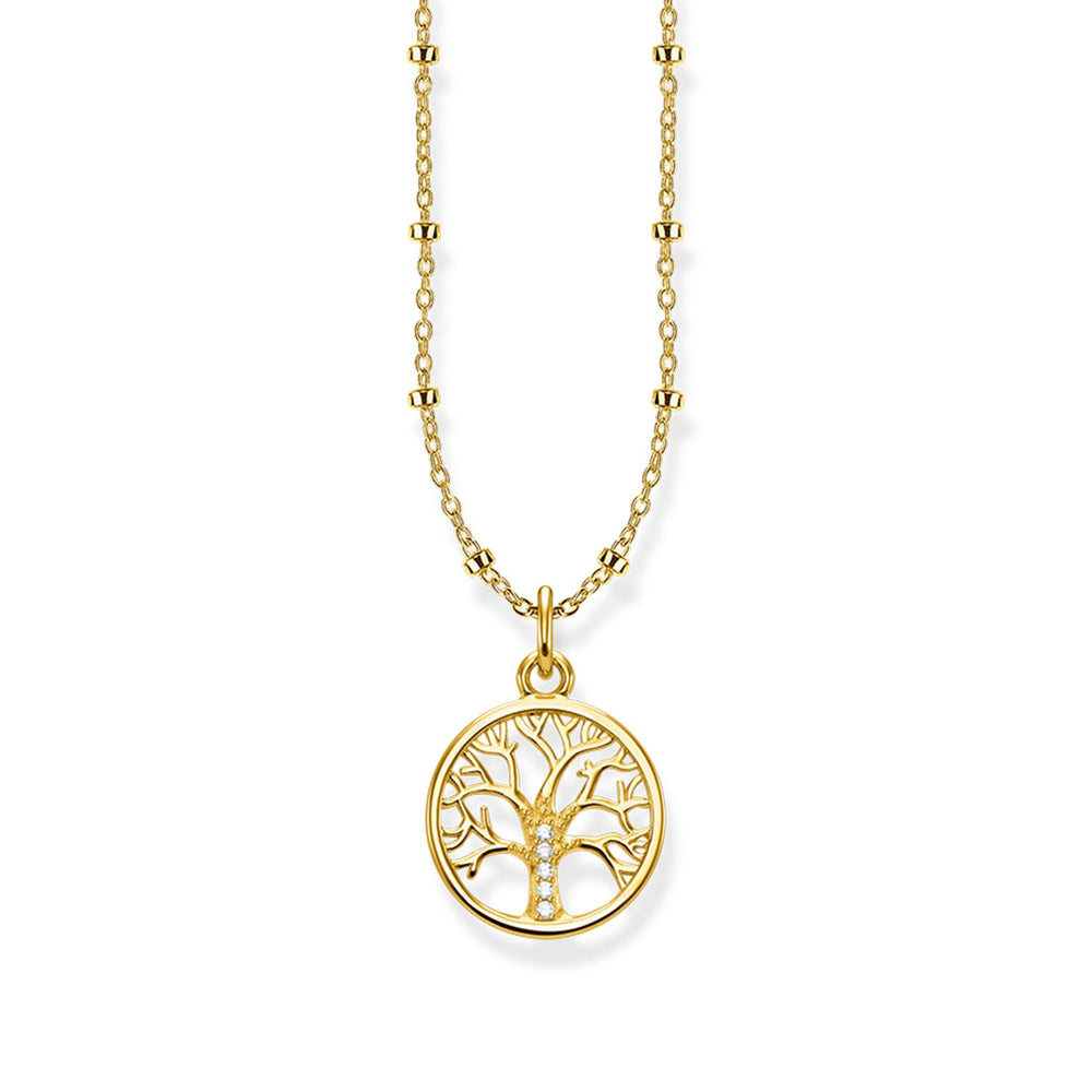 "Necklace ""Tree of Love gold"""