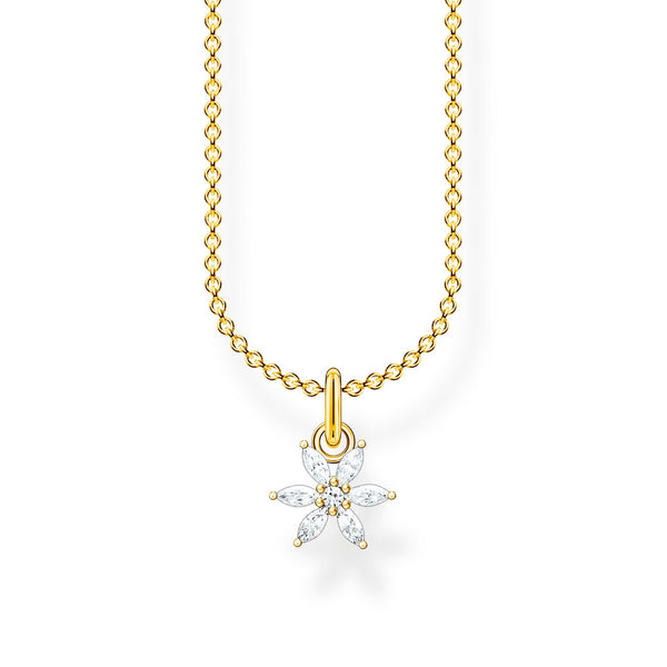 Necklace Flower Gold | Thomas Sabo Malaysia