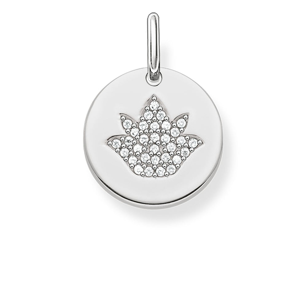 "Pendant ""Lotus Flower Disc"""