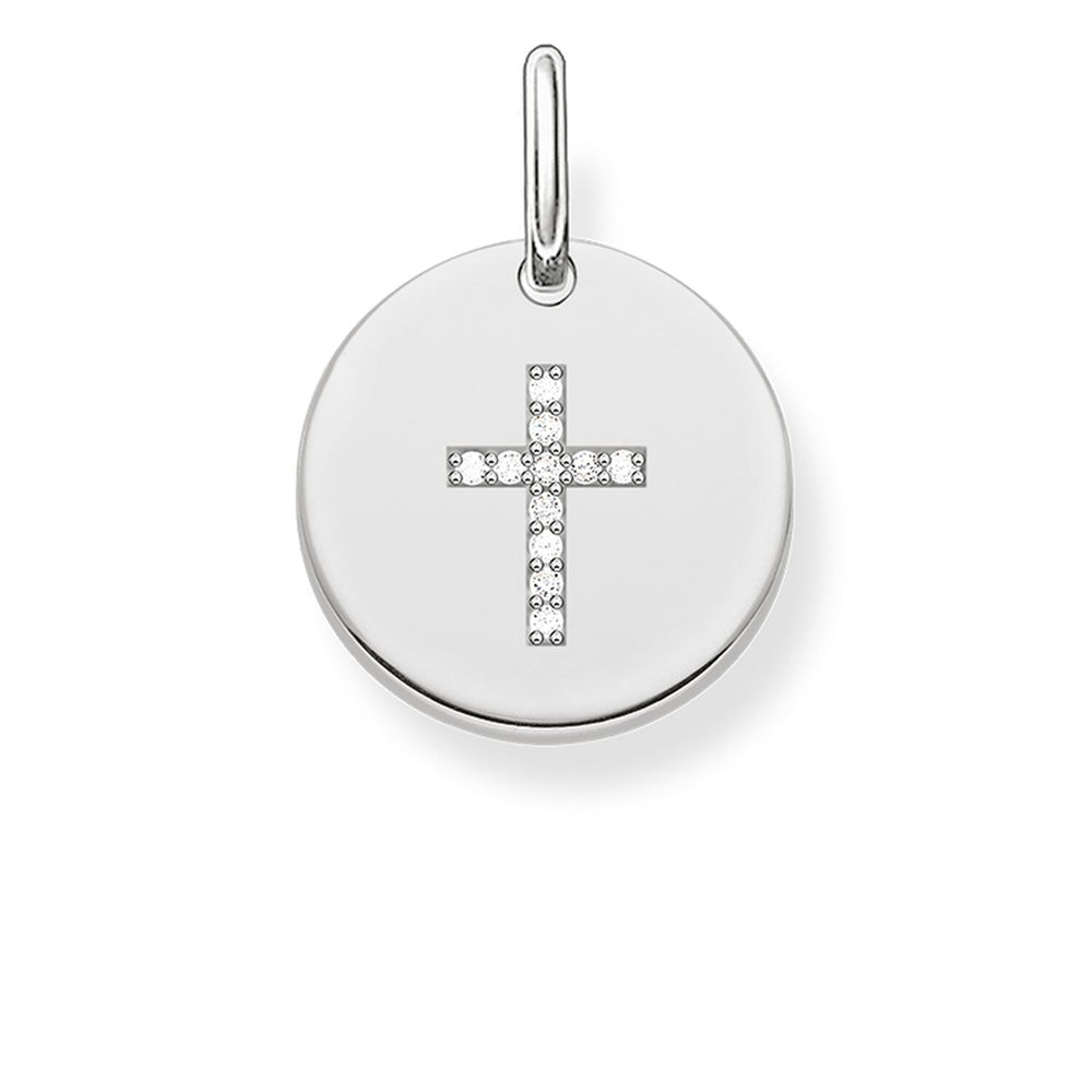 "Pendant ""Cross Disc"""