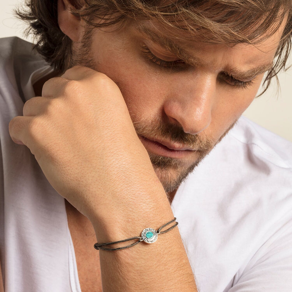 "Bracelet ""Little Secret Ornament Turquoise"""