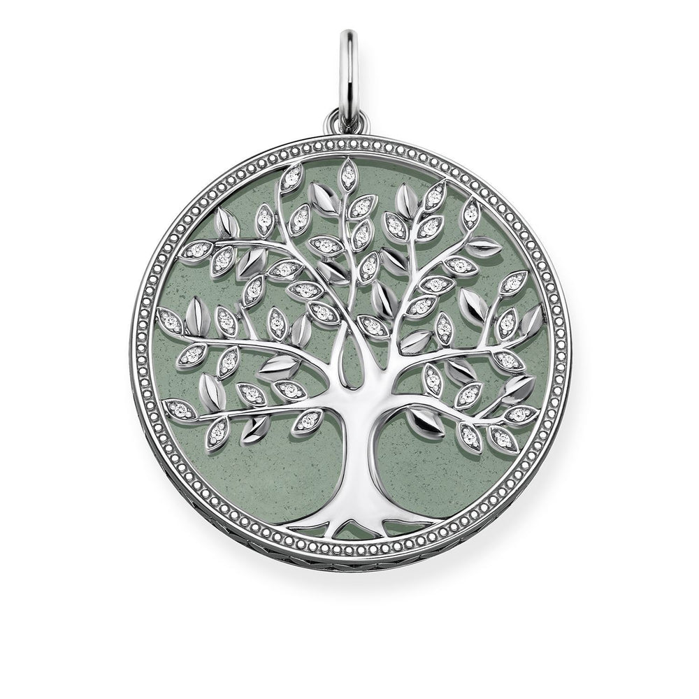 "Pendant ""Green Tree Of Love"""