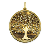 "Pendant ""Tree of Love brown"""