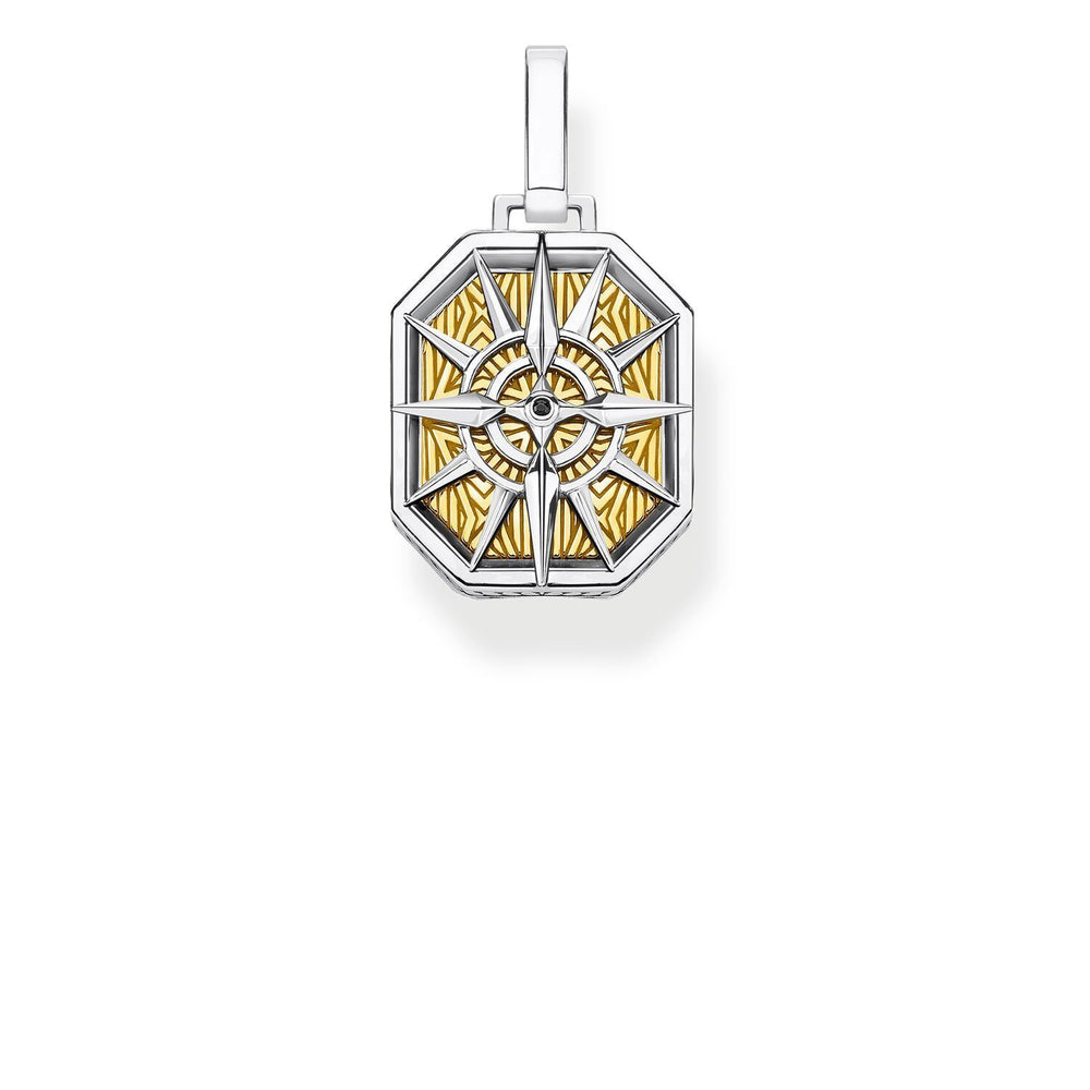 Pendant Compass Gold