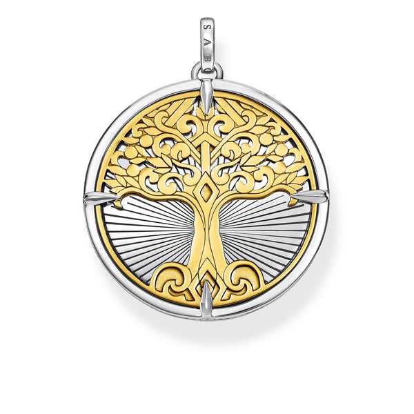 Pendant Tree Of Love Gold
