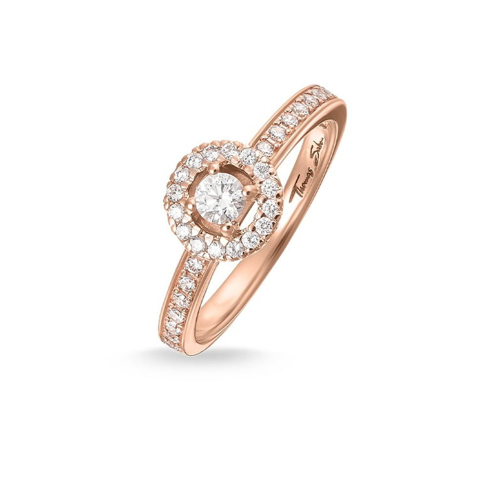 "Solitaire Ring ""Light Of Luna"""