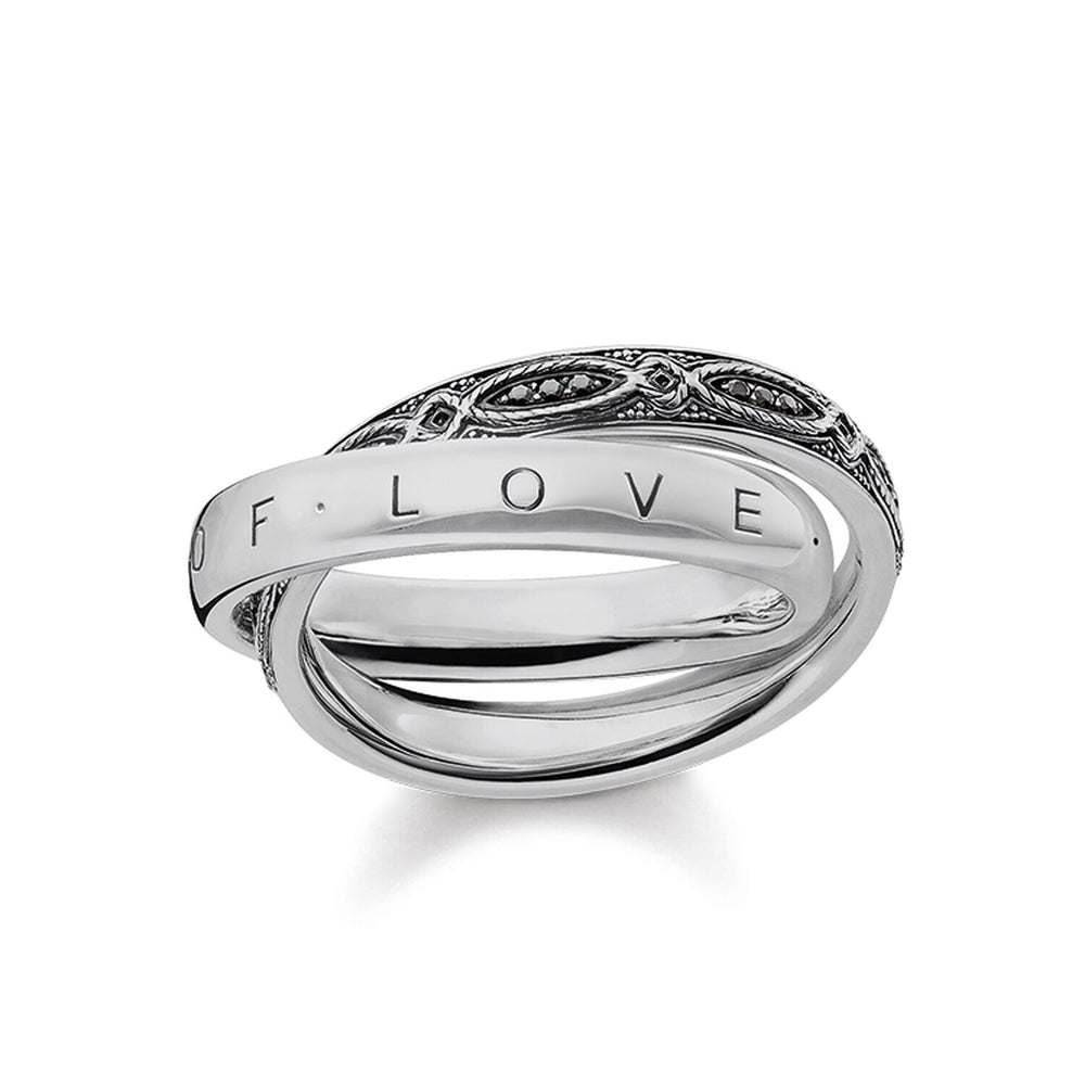 "Ring ""INFINITY OF LOVE"" - THOMAS SABO Malaysia"