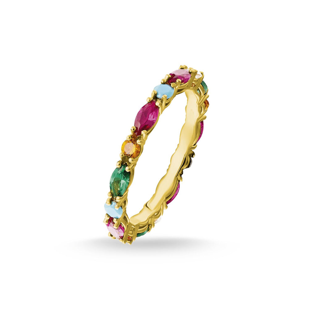 "Ring ""Colourful Stones"""