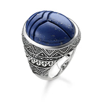 "Ring ""Blue Scarab"""