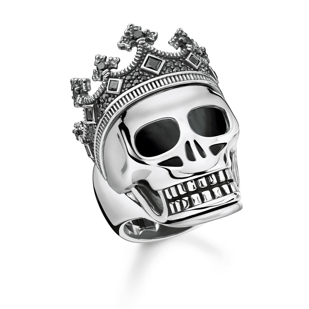 "Ring ""Skull crown"""