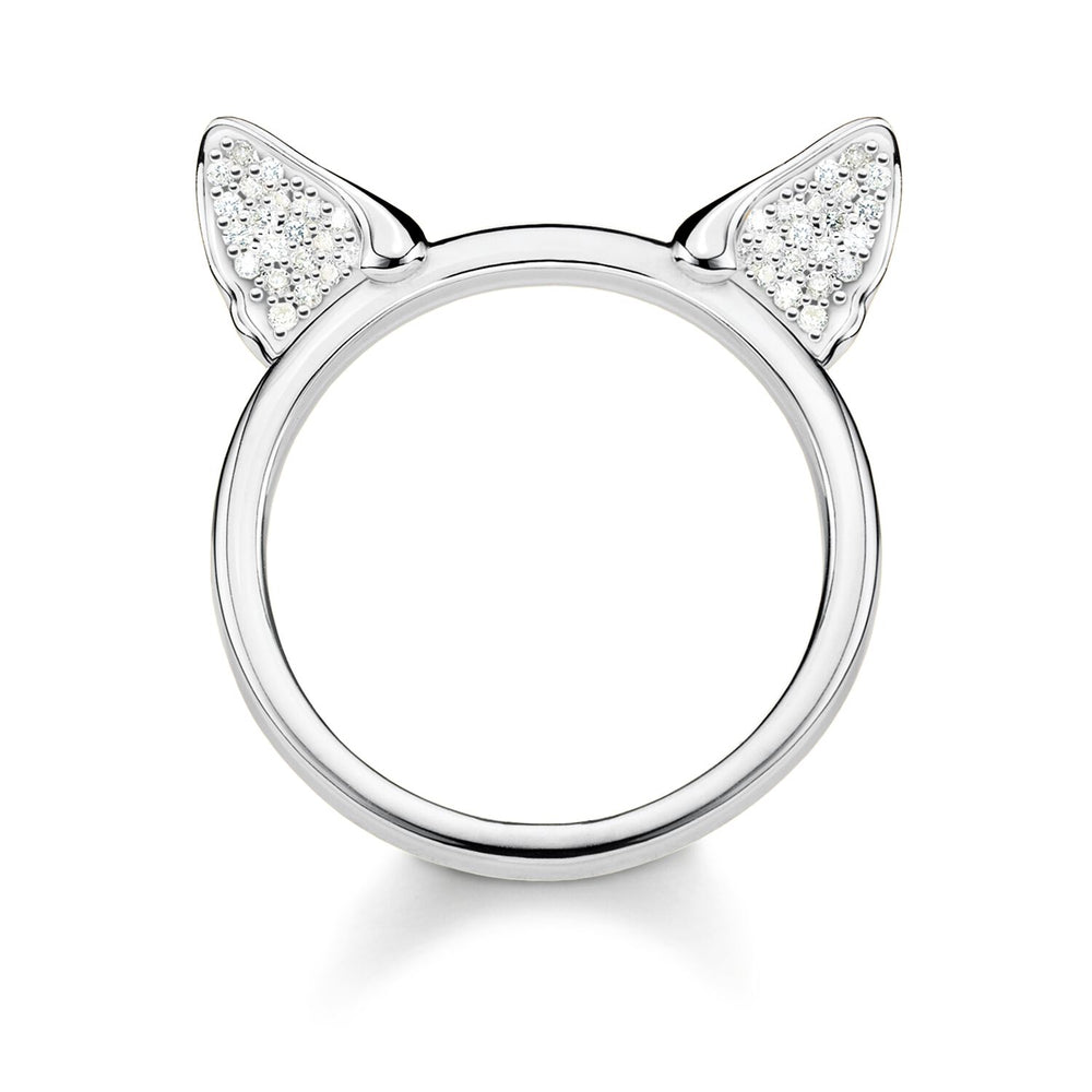 Ring Cat's Ears, Silver