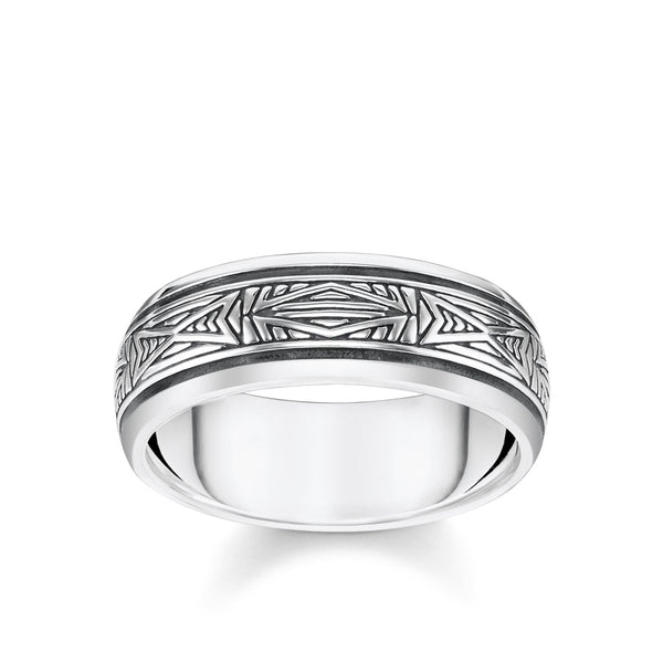 Ring Ornaments, Silver