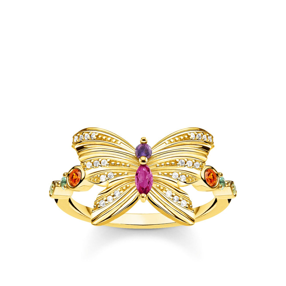 Ring Butterfly Gold
