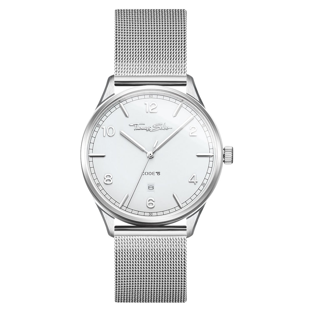 "Watch Unisex ""Code TS Silver White"""
