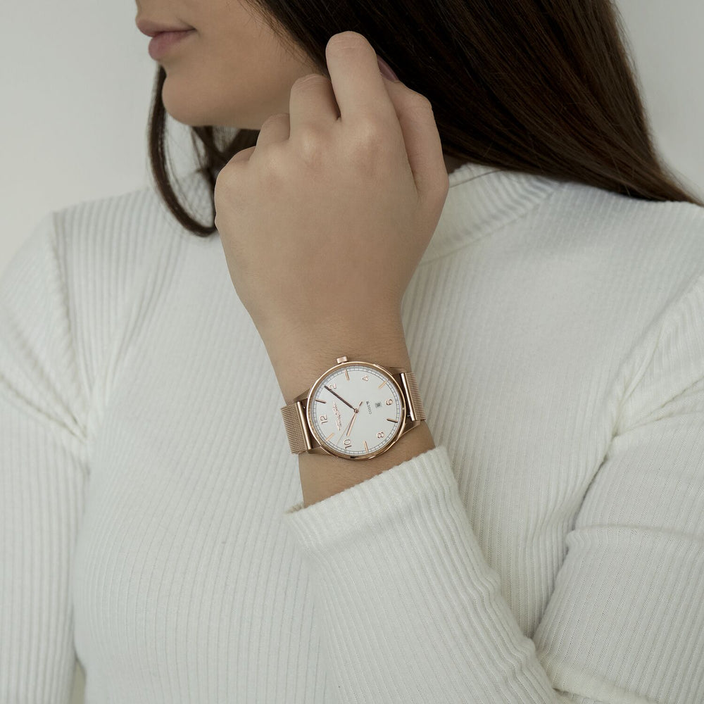 "Watch Unisex ""Code TS Rose Gold"""