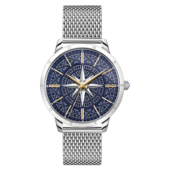 Men's Watch Rebel Spirit Compass, Two-tone