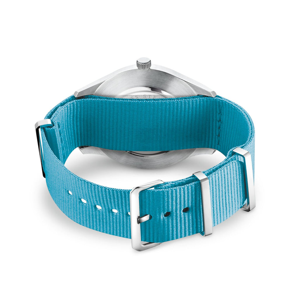 "Watch Strap ""Code Ts Nato Turquoise"""