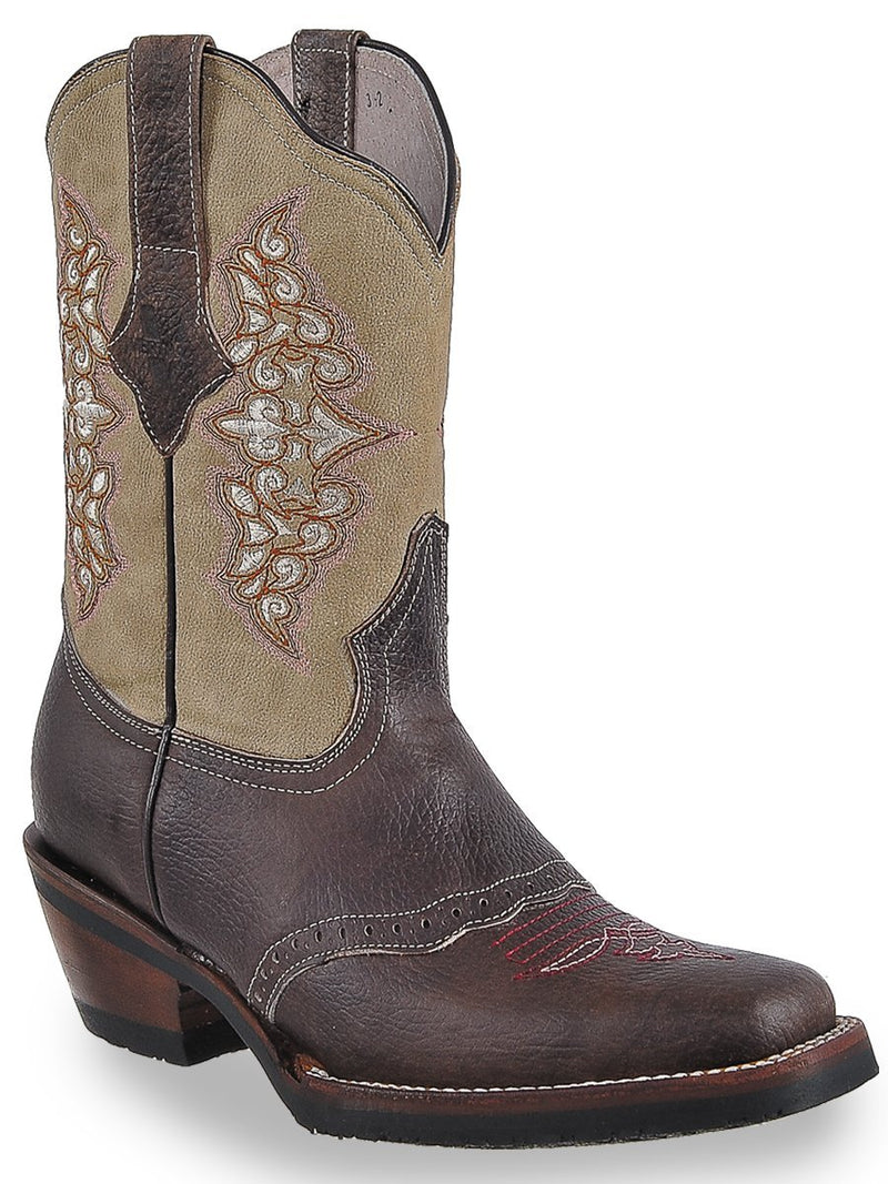 1418 Chocolate Bota Rodeo para Dama Joe Boots