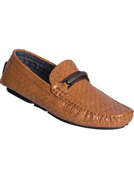 0287 Brown Loafers