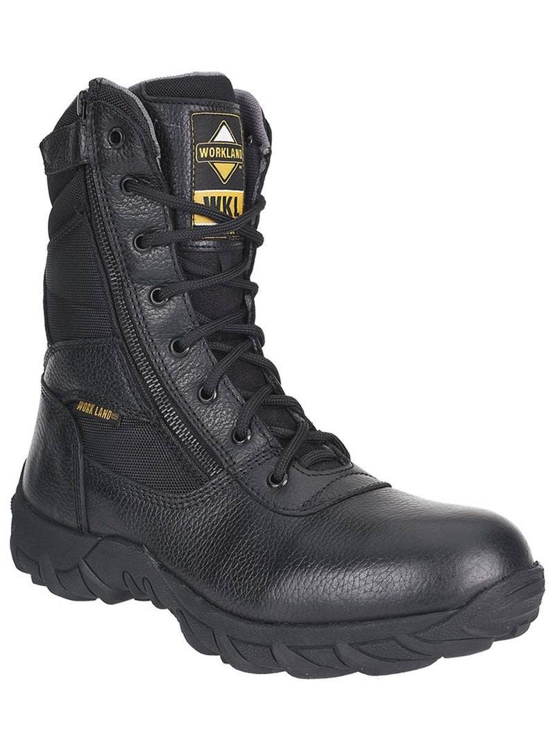 76200 Negro Work Land Botin