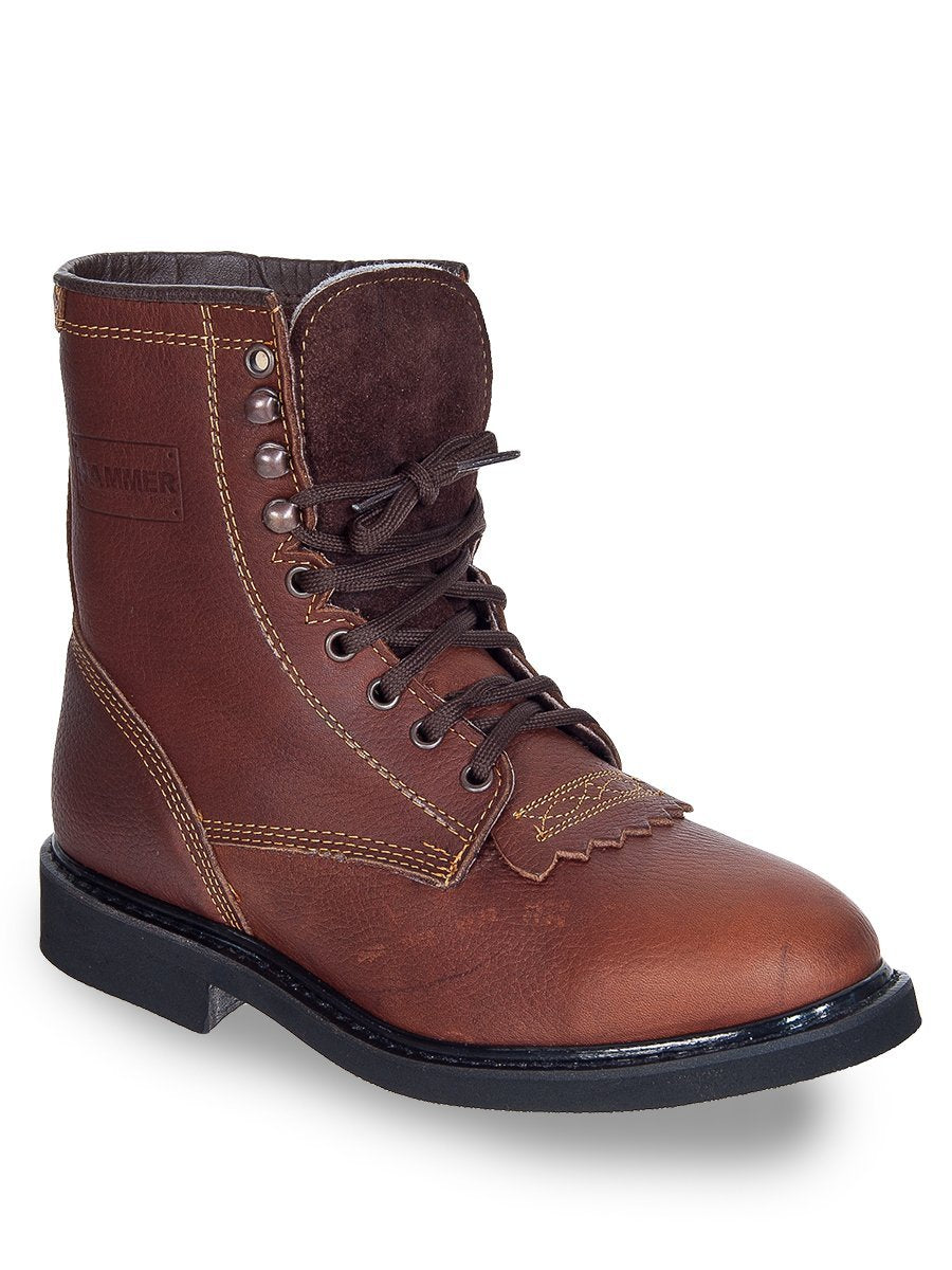 ACM118 Roble Hammer Lace up Boot