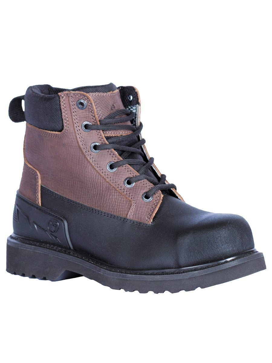 BE191 Cafe Berrendo Work Boot Water Resistance Steel Toe