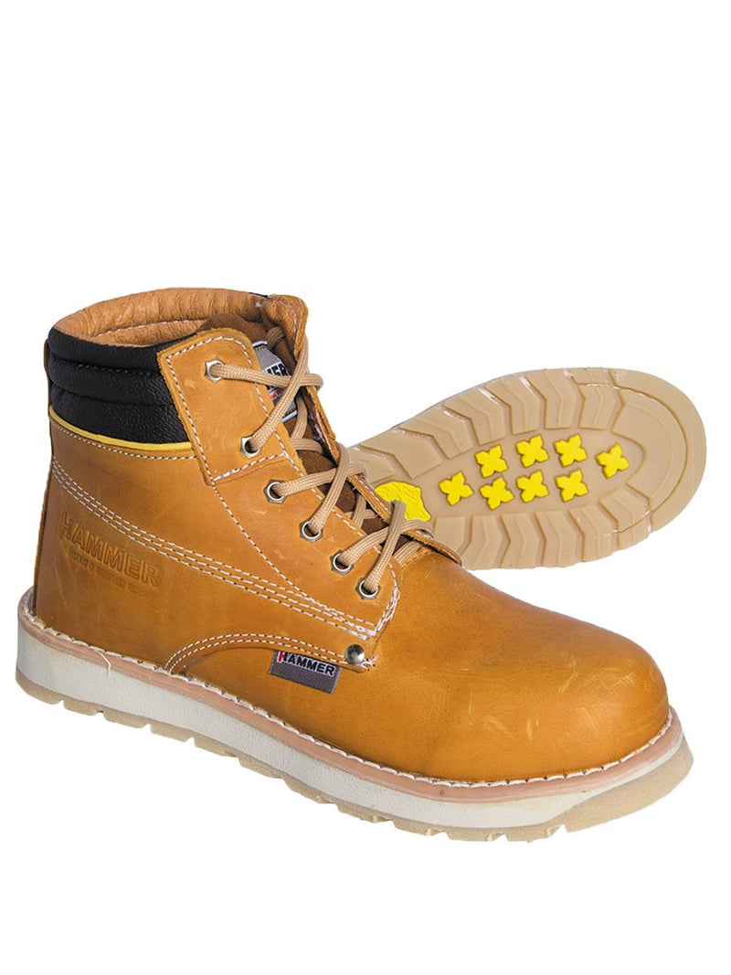 MU1131 Miel Hammer Short Boot Double Density