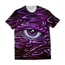 -Third Eye- Purple Shirt