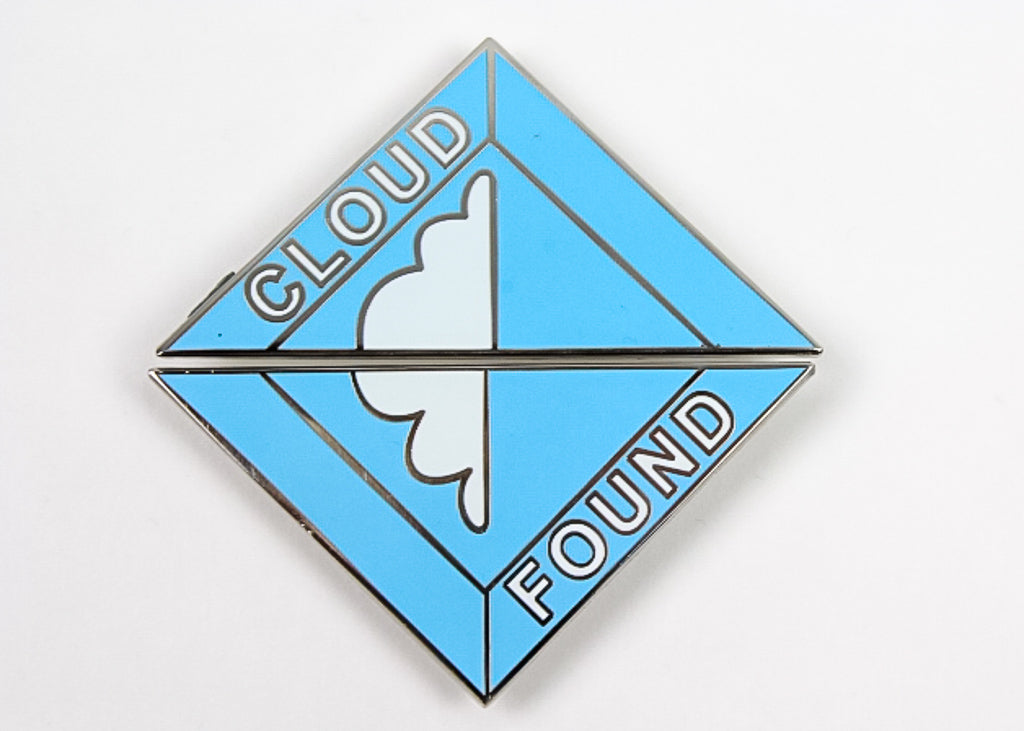 'Cloud Found' V2 Papadosio Hat Pin Set