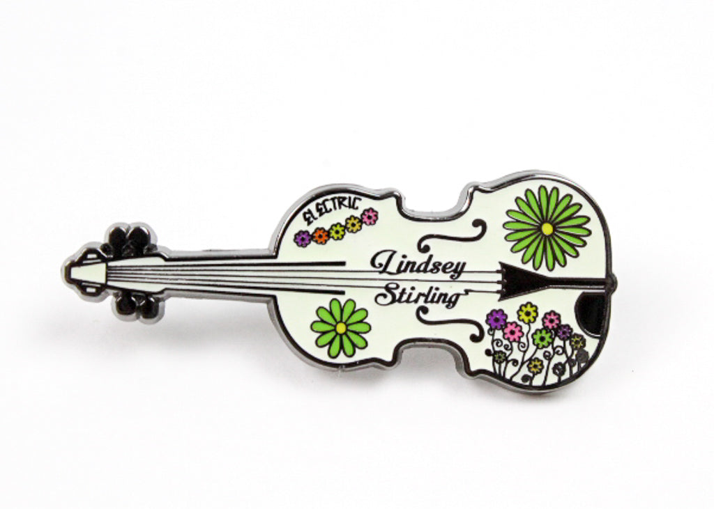 Lindsey Stirling 'Electric Daisy Violin' Hat Pin
