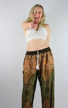 -Fall- Geometric Spiral Drawstring Unisex Pants